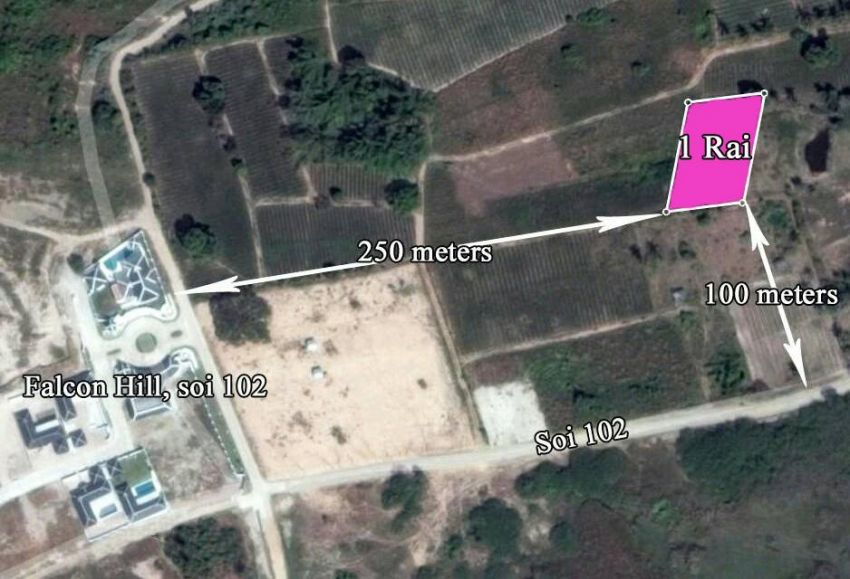 Soi 102 plot for sale 100, 200, tw