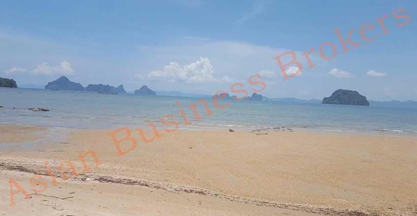 1801001 Beachfront Land for Rent in Krabi