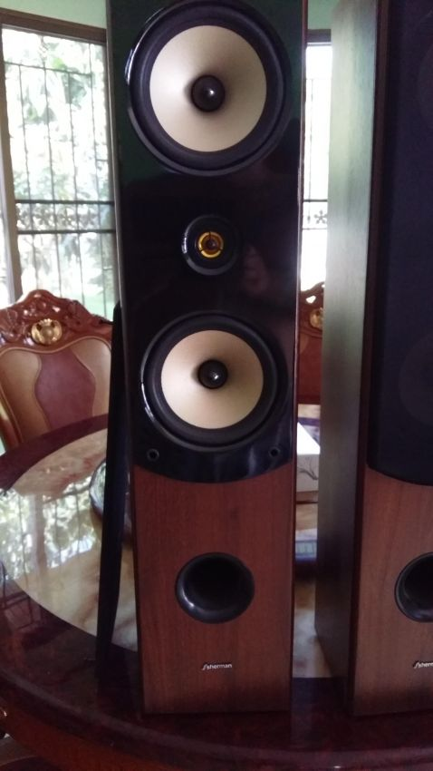 Four way speakers
