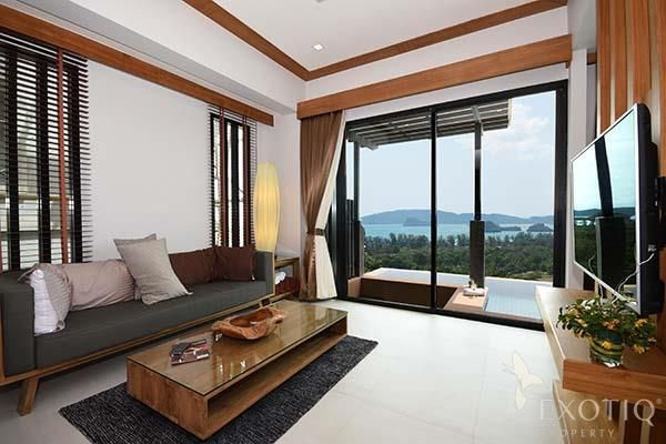 Ocean-View Pool Villas in Krabi