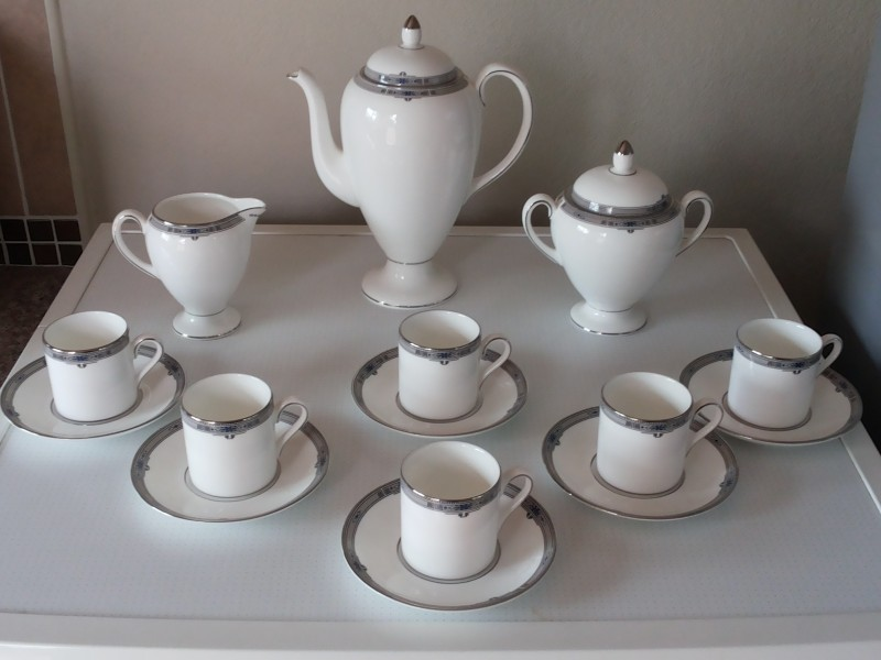 Wedgwood Bone China Coffee Set