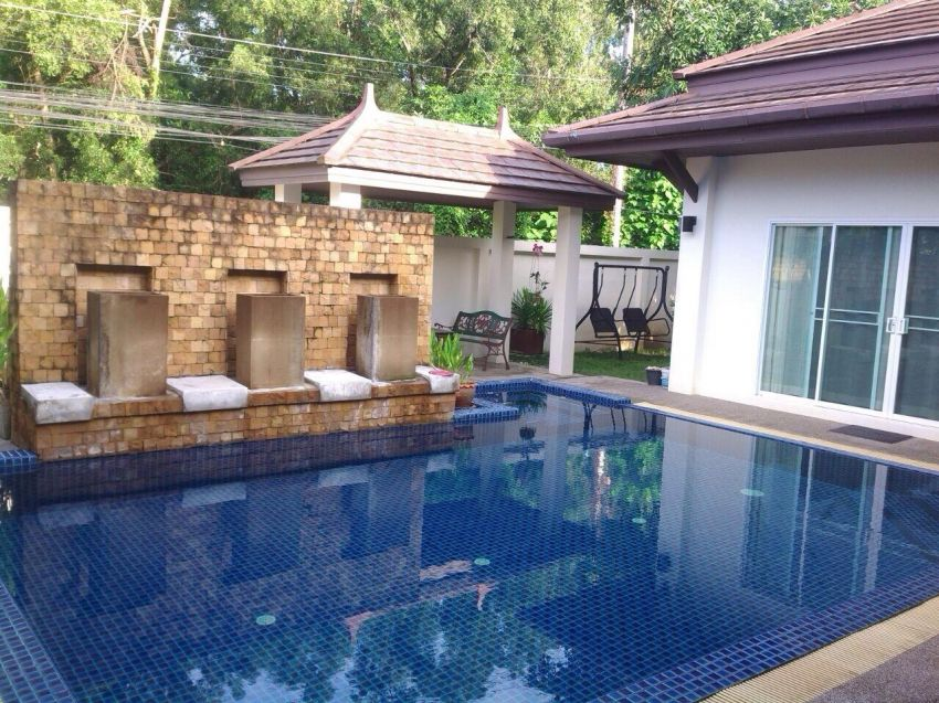 A 3 bed pool villa for sale in Rawai.