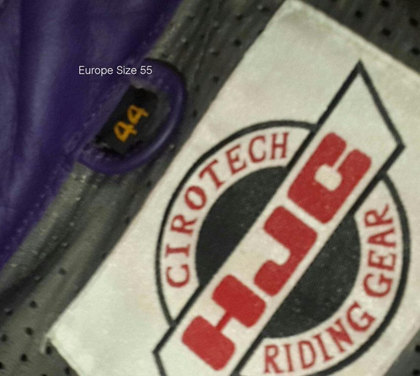 Motorbike Leather Racing Suit with GP protection inserts