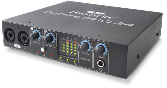 Focusrite Saffire PRO 24 computer/music software interface for Apple