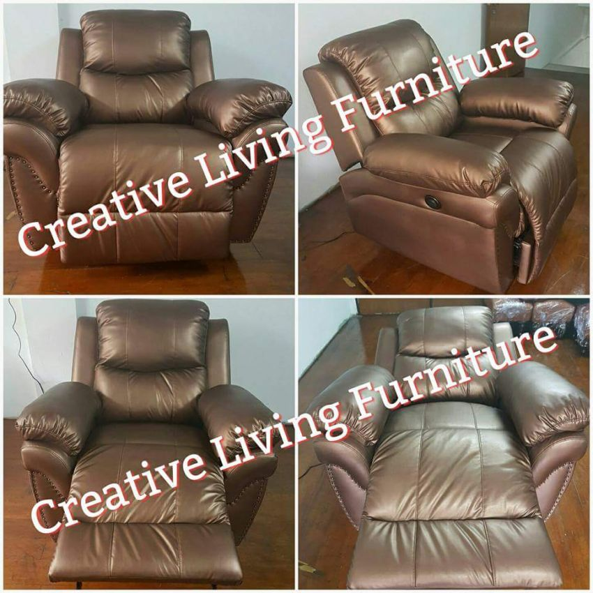 Leather Recliner Chair (Lazyboy type)