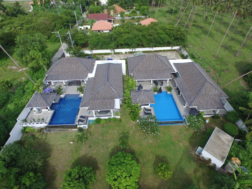 3+4 bedroom Villas, Bang Kao - Koh Samui