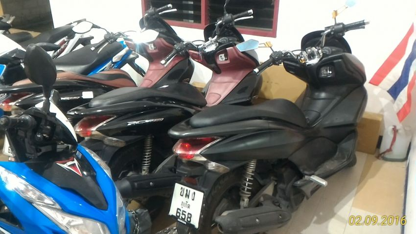 For Rent Honda PCX 150 in Rawai, delivered (from 15 december)