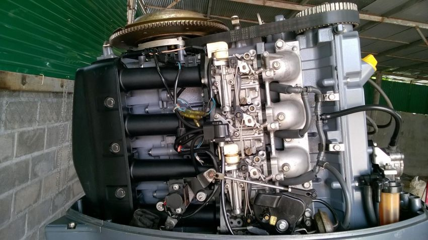 Yamaha 100 HP 4 Sroke engine in exelent condition