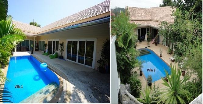 For sale 2 pool villas Plai Leam Koh Samui 2 + 3 bedrooms