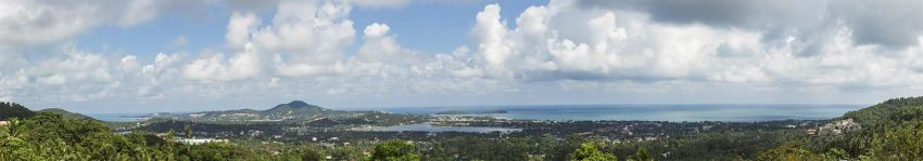 Land sea view for sale 800 m² in Phu Chaweng Koh Samui