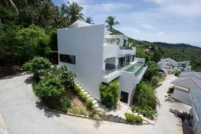 For sale sea view villa 6 bedrooms pool Chaweng Koh Samui