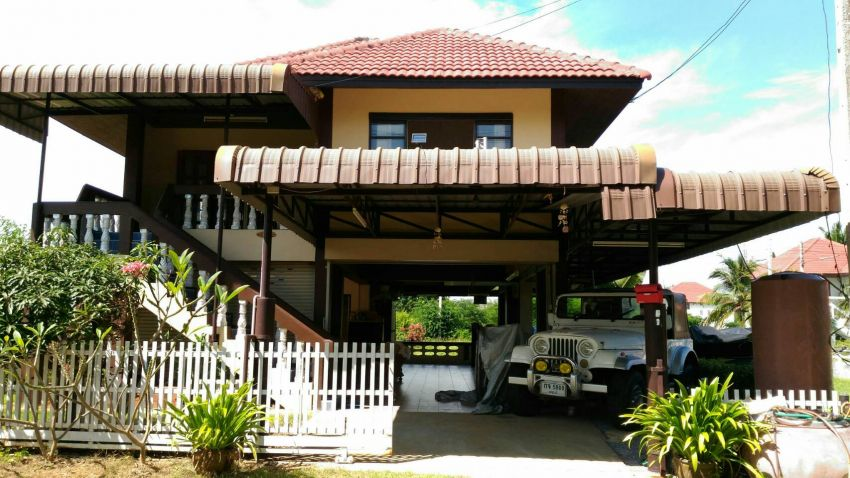 Quiet house for sale Mooban Golden Beach
