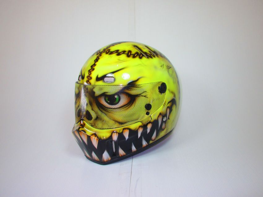 Custom Paint Car Racing, Drag, Nascar Bell, Arai, Helmets