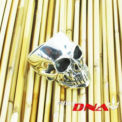 Hand made Sterling Silver biker rings 0.925