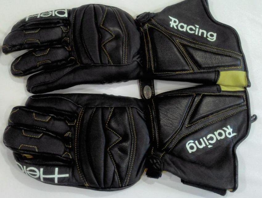 1 pair Held leather motorbike racing gloves (unused).Size 9.