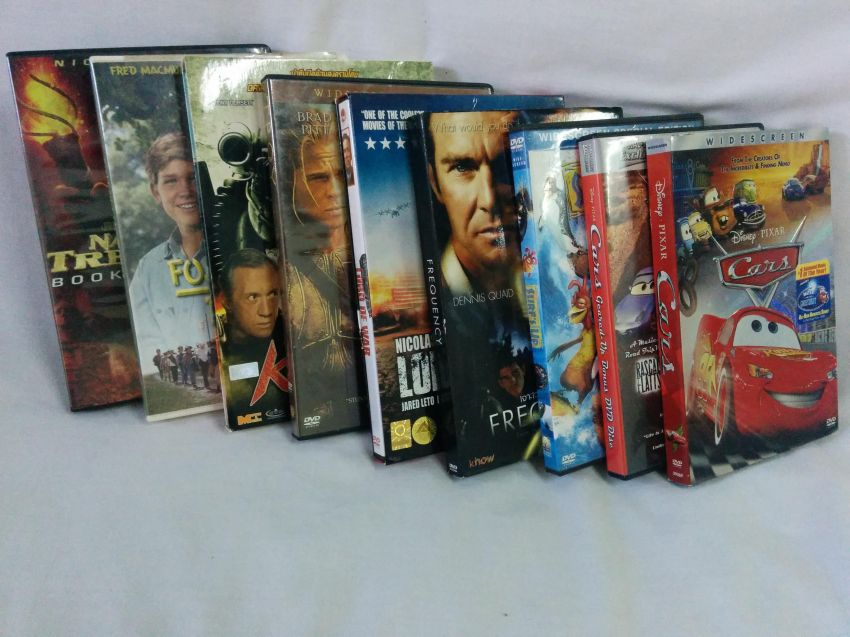 9 DVD pack action & family movies: Cars, Surfs Up, Kill Zone