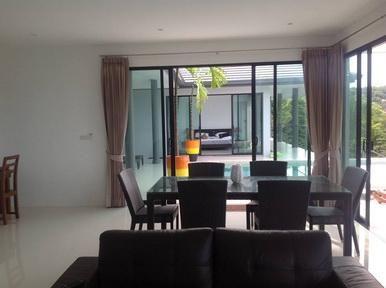 For rent 3 bedroom pool villa sea view Bangrak Koh Samui