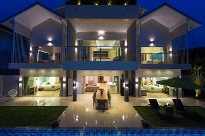 For rent 5/4/3 bedroom pool villa Ban Tai Koh Samui