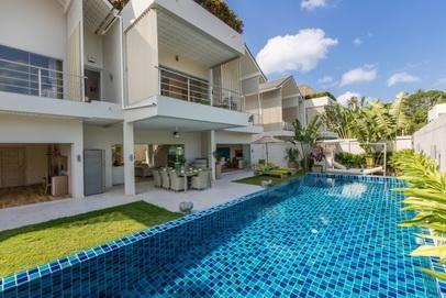 Villa 5/4/3 bedroom pool for rent Koh Samui