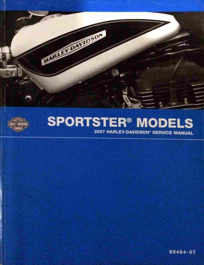 Service manual, 2007 Harley Sporster
