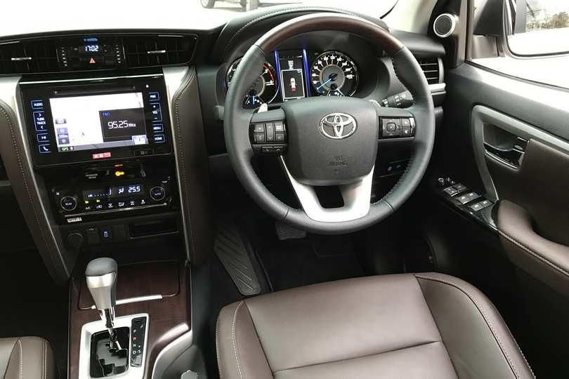 Toyota Fortuner for rent