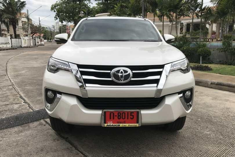 Toyota Fortuner for rent - 29220 ฿/mo