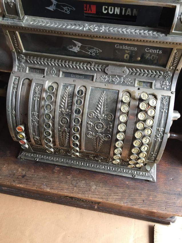 Antique National cashregister