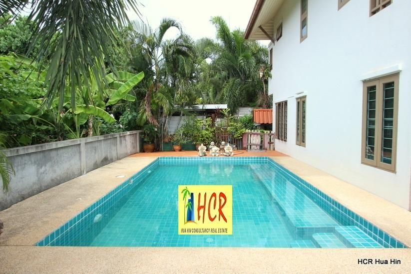 3 Bedroom Pool House for Sale Soi 6 Hua Hin