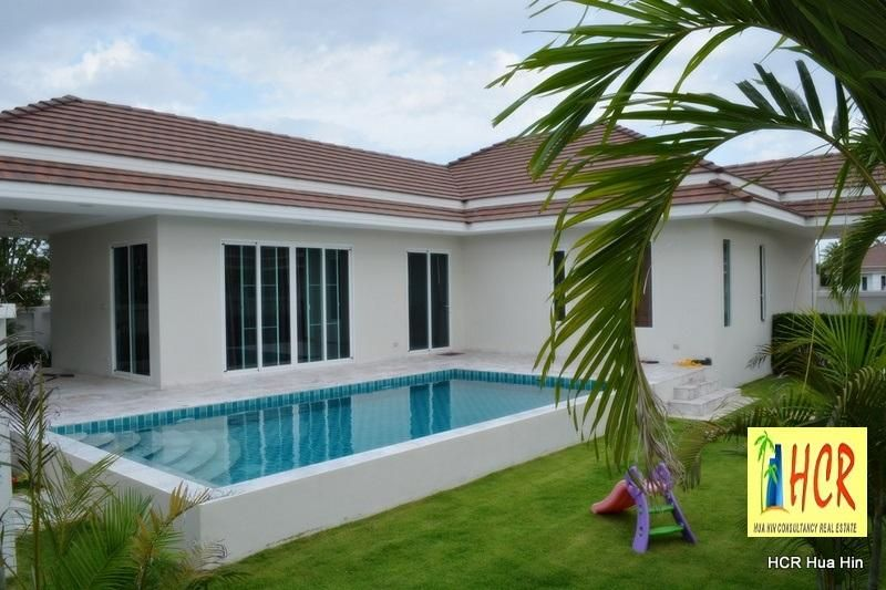 Brand new fully furnished pool villa for sale.