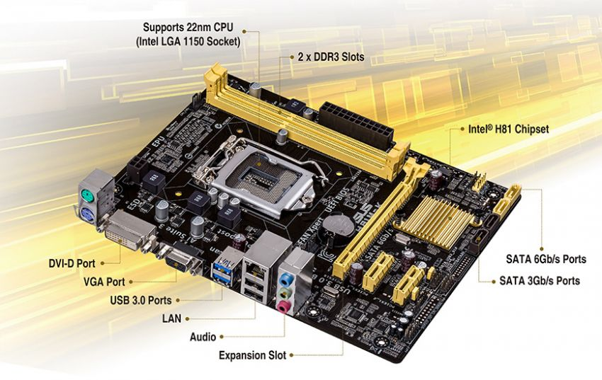 A H81M-K Motherboard