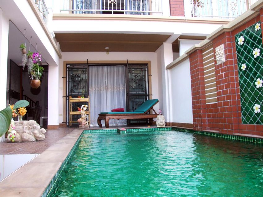 3bdr House with Private Pool on Pratumnak Hill