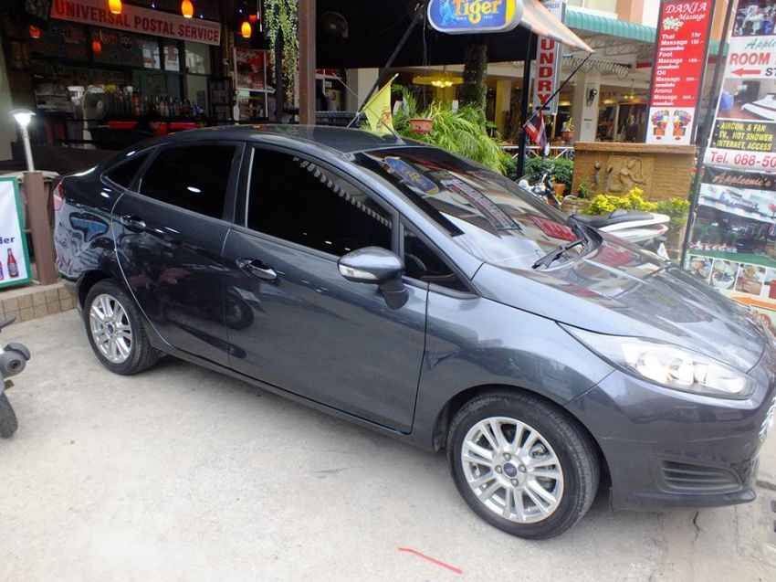 For Rent Ford Fiesta Trend Saloon