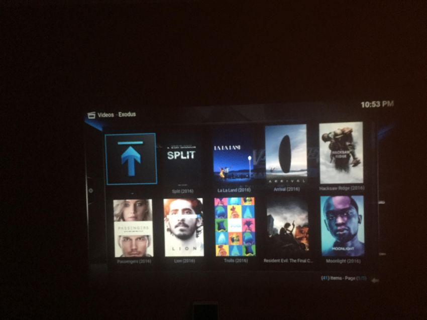 Projector with Built in Android + Latest Movies & TV