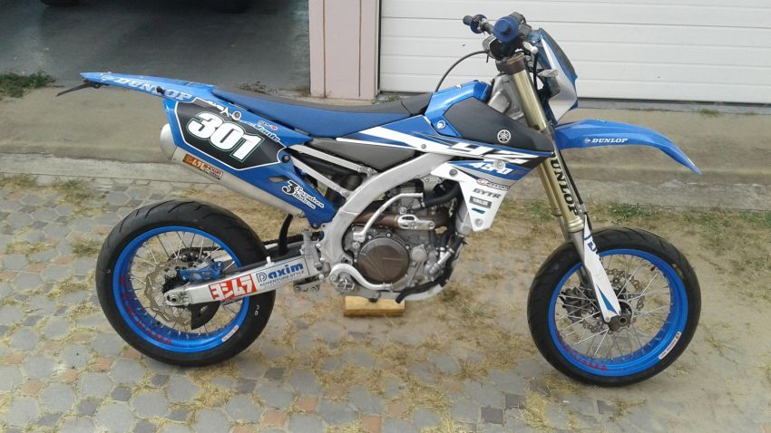 Yamaha Yz 450f Supermoto for sale