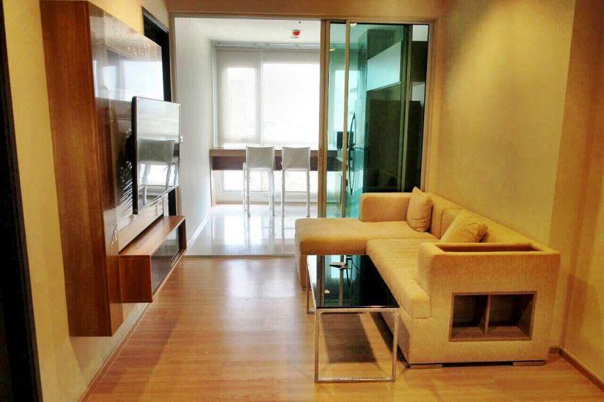 Rhythm Sathorn for rent, 1 BR, High Floor, 45 sqm, River Vie