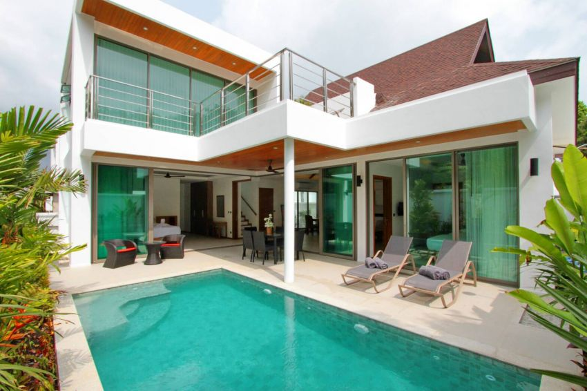 A new 3 bed villa for rent in Rawai