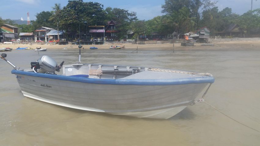 For Rent 4.5 m Alloy Fishing / Island hopping Boat