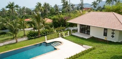 For sale villa 3 bedroom pool Bangrak Koh Samui