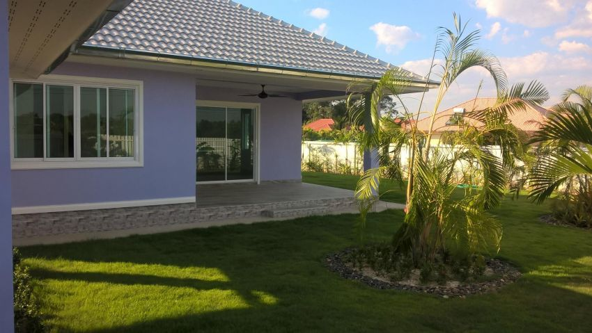 New bungalow, very good quality in a beautiful location