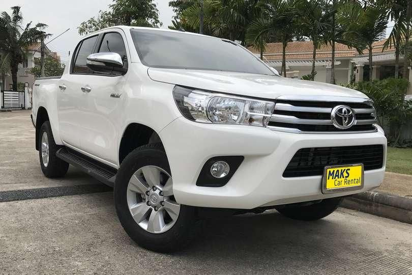 Toyota Hilux Revo for rent in Pattaya