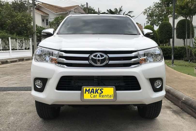 Toyota Hilux Revo for rent in Pattaya