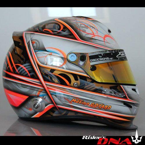 Bell Racing Helmets >> Custom Paint Nascar, Racing, GO Kart Airbrush Helmets ...