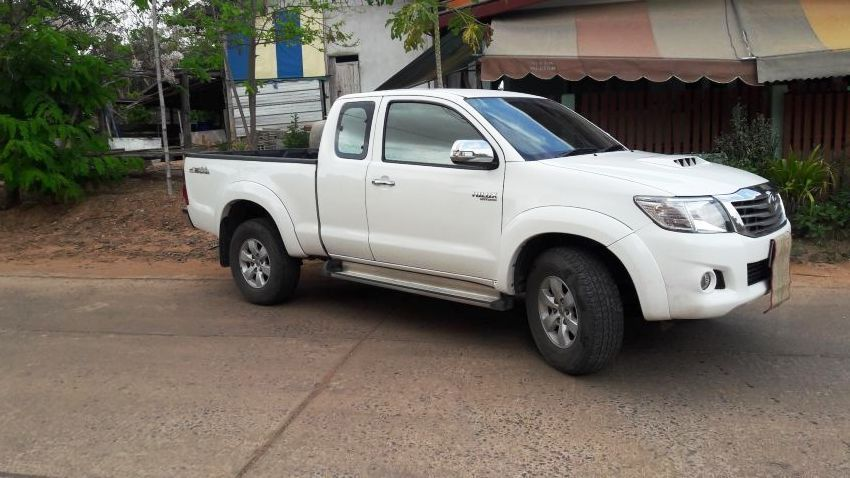 Toyota Hilux Vigo SmartCab 2012