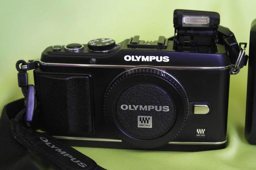 Olympus Pen E-P3 Black body