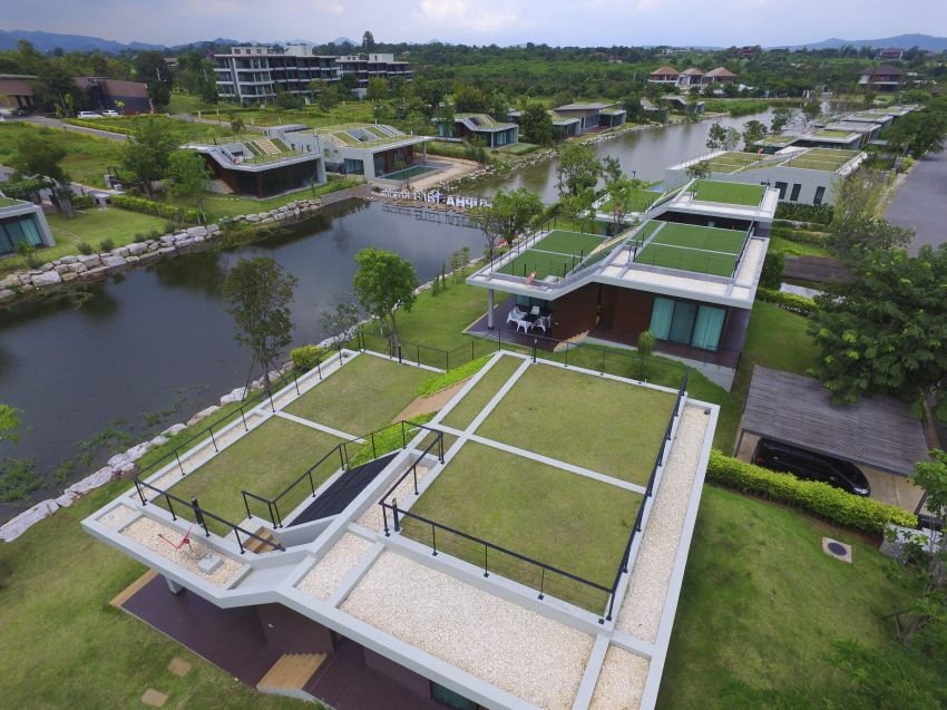 Waterfront, roof top, and modern architecture in Khao Yai