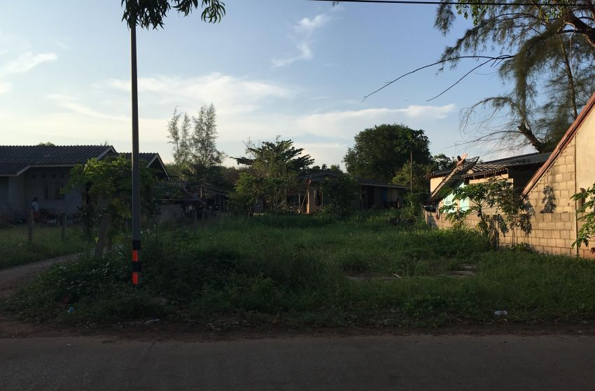 Beach  Front Land for Sale -Bangsaphan