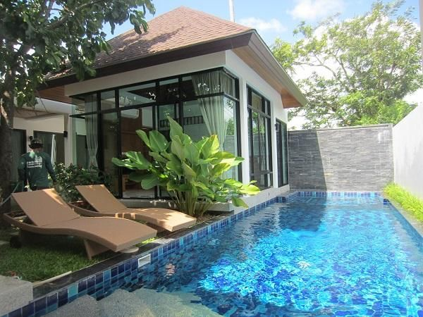 A 3 bed 3 bathrooms pool villa for rent in Rawai