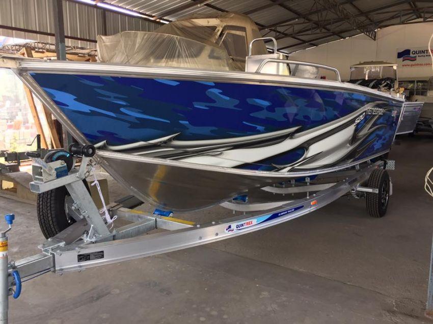 Quintrex 520 Renegade CC. (Aluminium Boat)