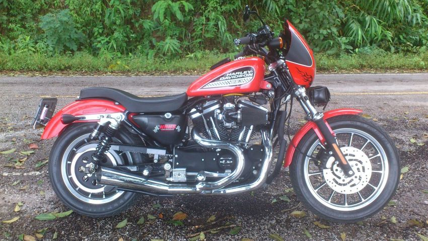 2003 XL883R Modified 80 plus H.P. Sportster