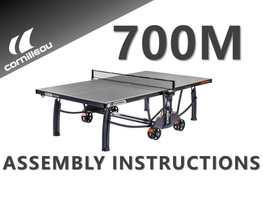 Tennis / Ping Pong Table - Outdoor - Cornilleau 700M